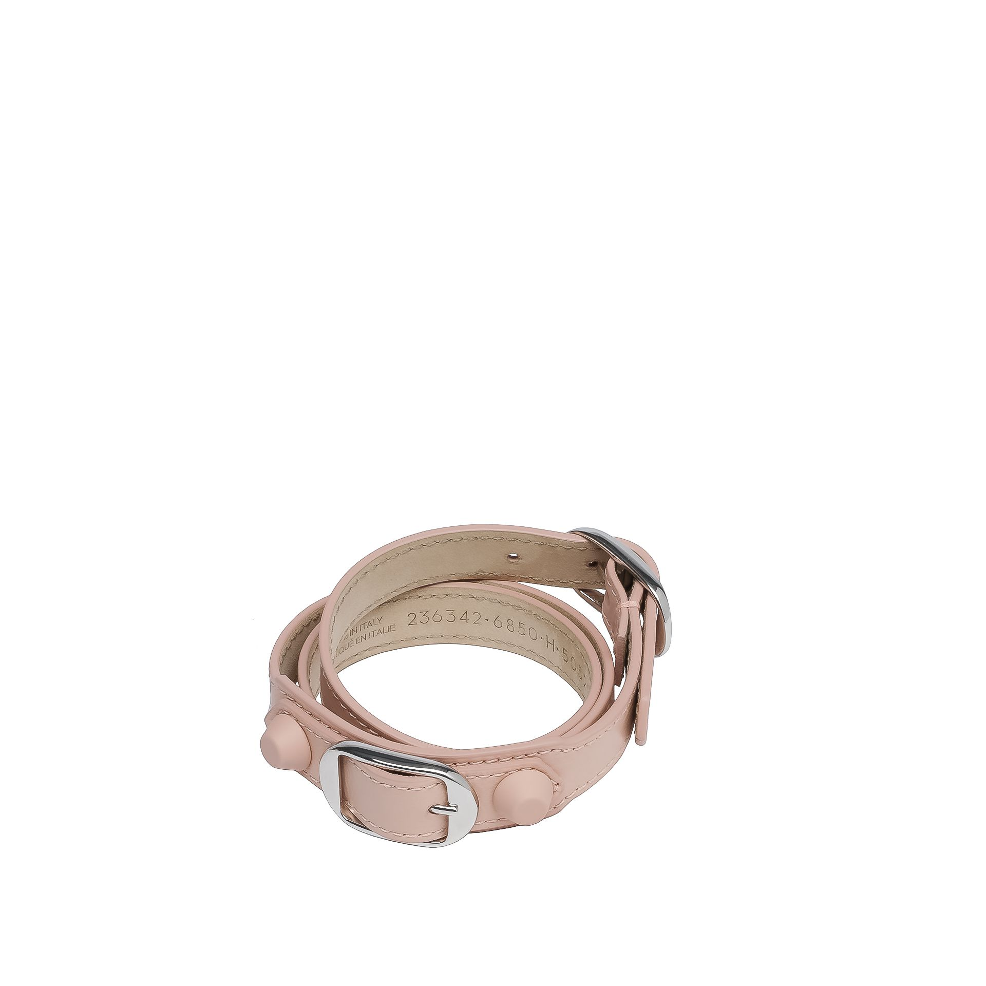 BALENCIAGA Balenciaga Classic Bracelet Triple Tour Holiday Bracelet D f
