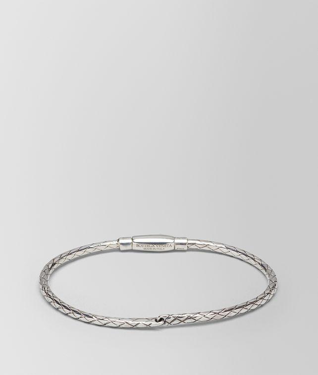 BOTTEGA VENETA BRACELET IN INTRECCIATO SILVER Bracelet [*** pickupInStoreShipping_info ***] fp
