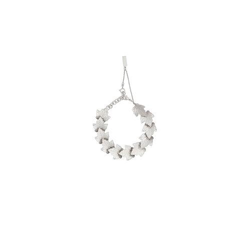BALENCIAGA Bracelet D Balenciaga Silver Leaves Row Bracelet f