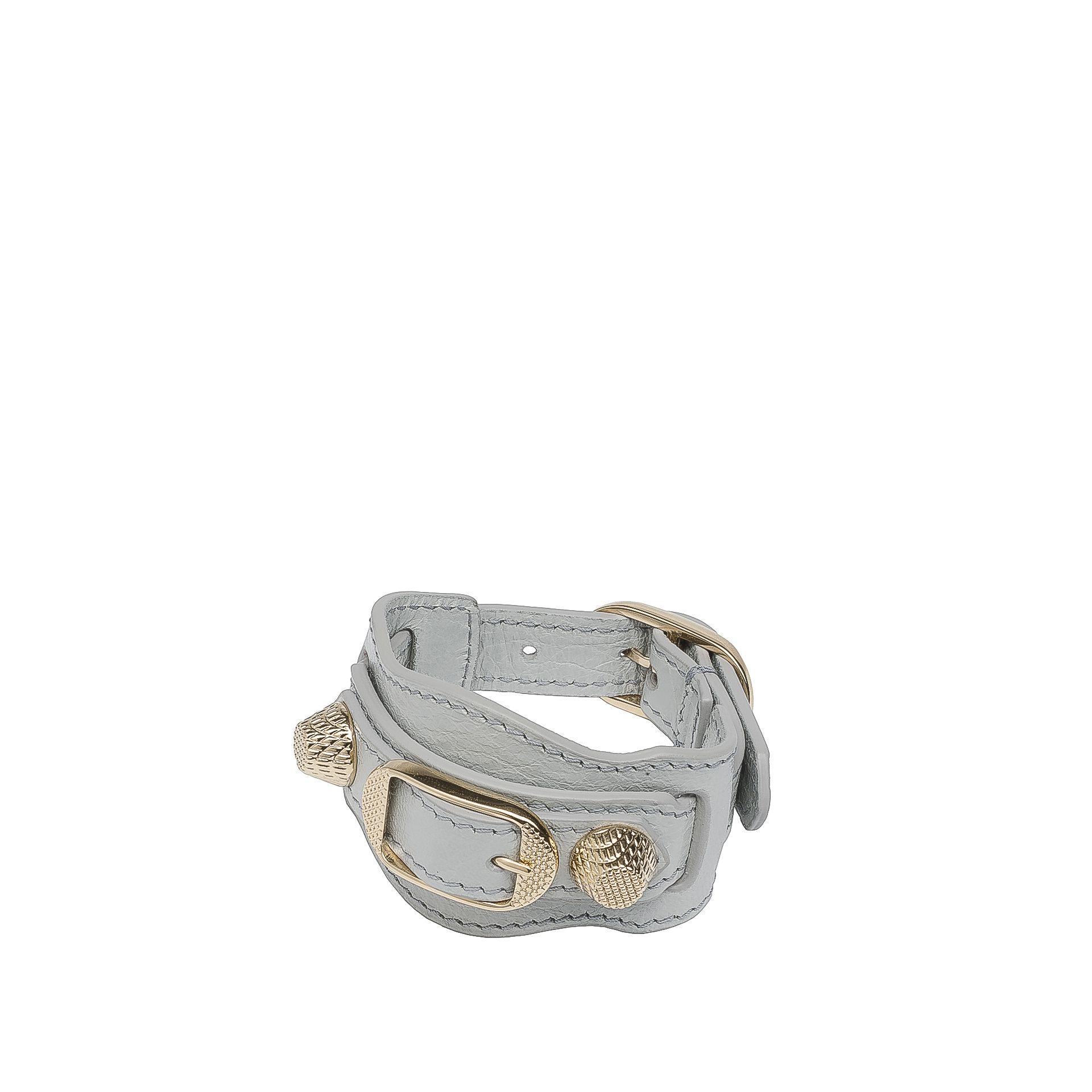 BALENCIAGA Balenciaga Giant Gold Bracelet Bracelet D f