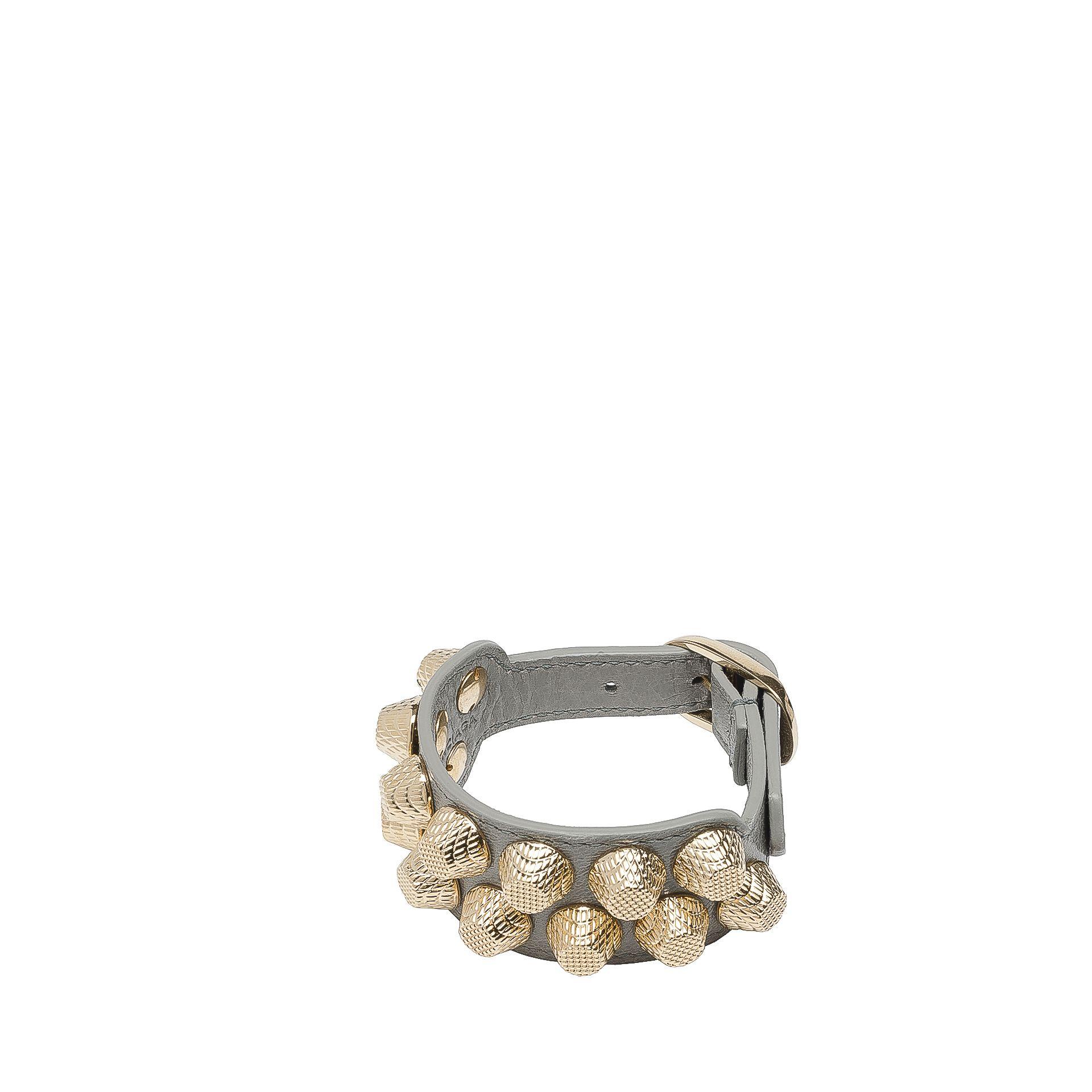 BALENCIAGA Balenciaga Giant Gold Bracelet Stud M Giant Bracelet Stud D f