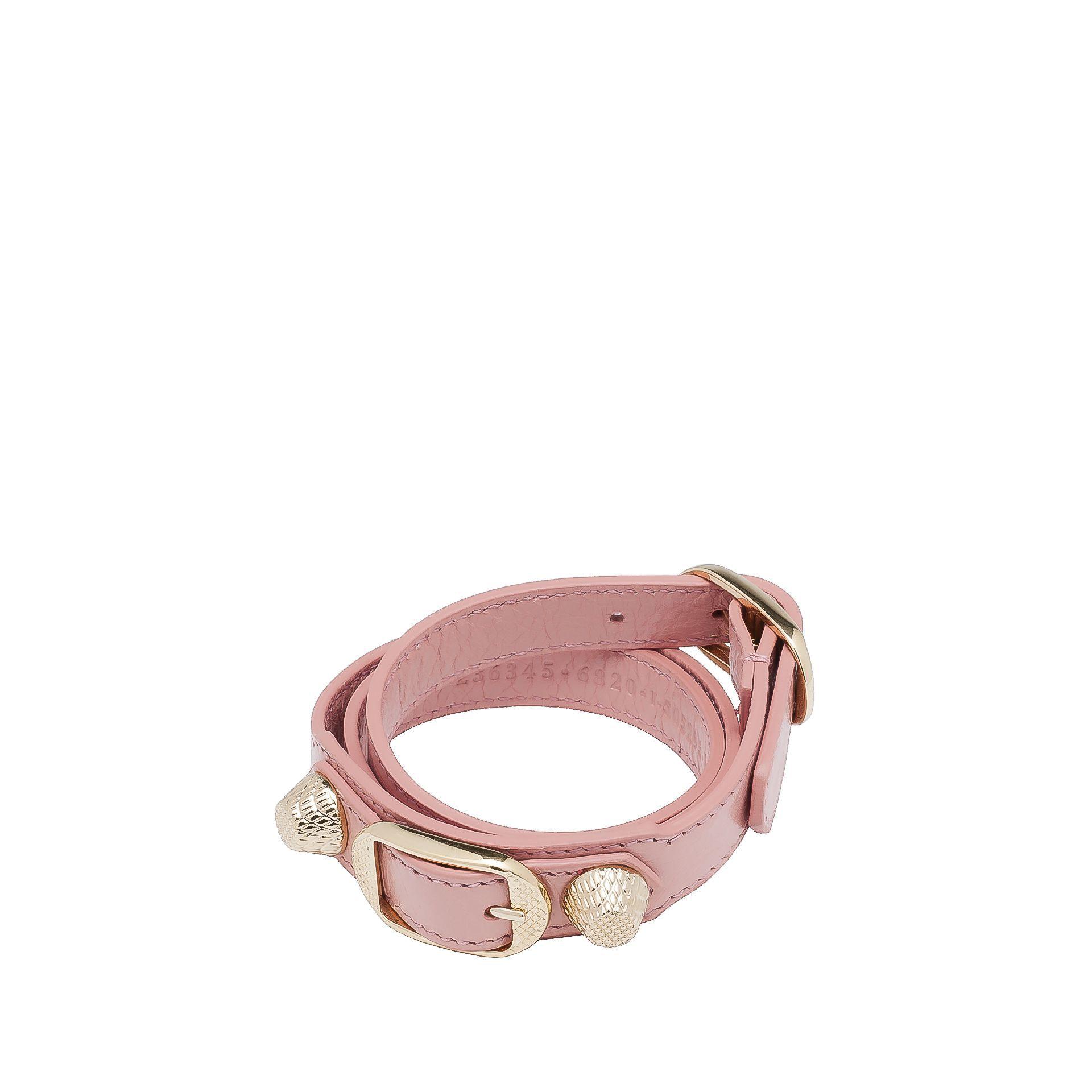 BALENCIAGA Balenciaga Giant Gold Bracelet Triple Tour Bracelet D f