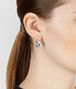 BOTTEGA VENETA EARRINGS IN SILVER AND STONES Earrings D ap