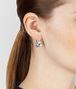 BOTTEGA VENETA EARRINGS IN SILVER AND STONES Earrings Woman ap