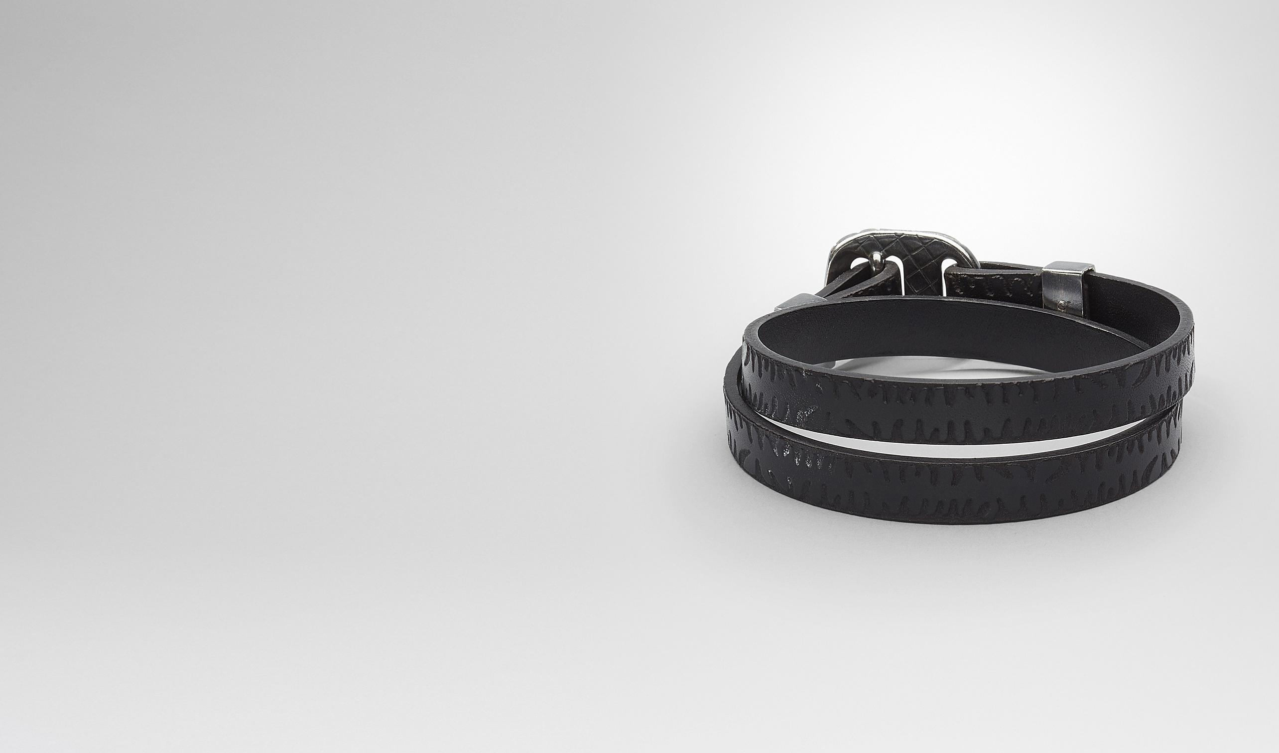 BOTTEGA VENETA Bracelet U BRACELET IN NERO CALF pl