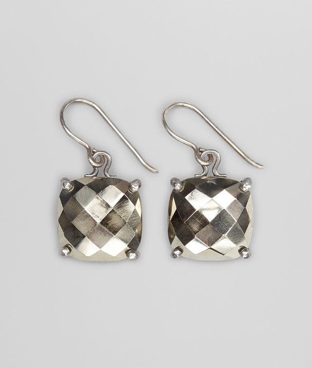 Bottega Veneta Earrings In Silver Pickupinshipping Info Fp