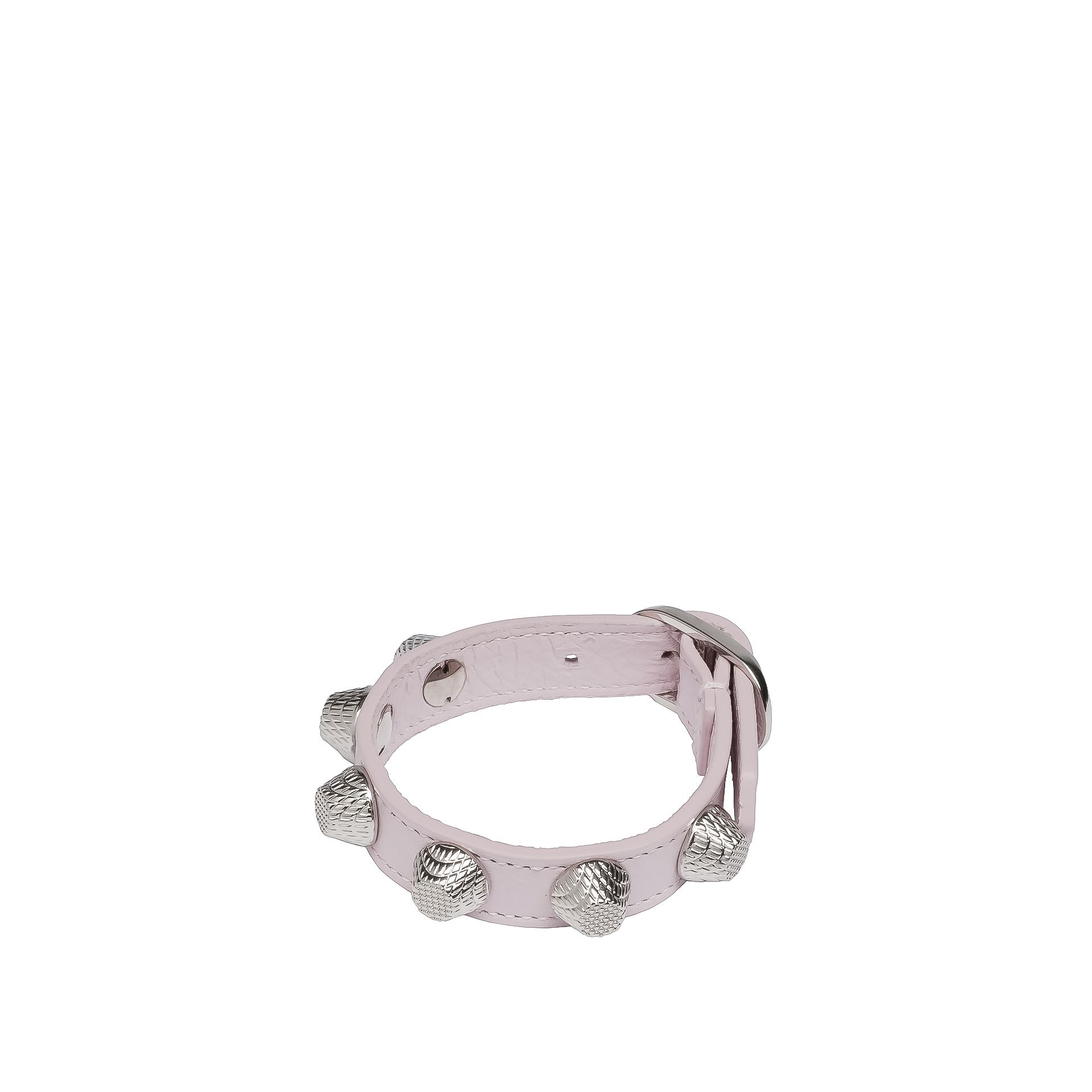 BALENCIAGA Balenciaga Giant Silver Bracelet Stud Bracelet D f
