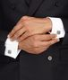 BOTTEGA VENETA CUFFLINKS IN INTRECCIATO SILVER  Other Silver Accessory U ap