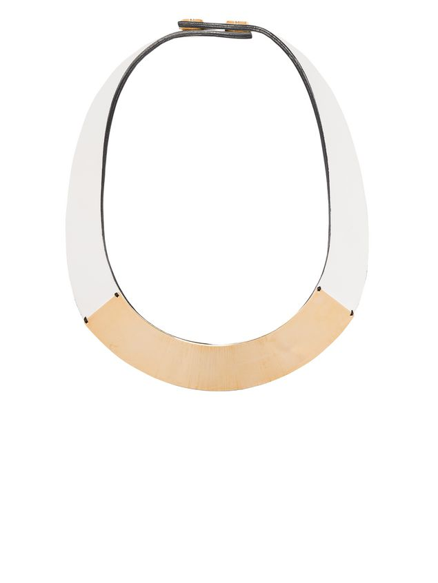 necklace compare necklaces co fashiola for buy leather online women jewellery petal accessories marni floral uk