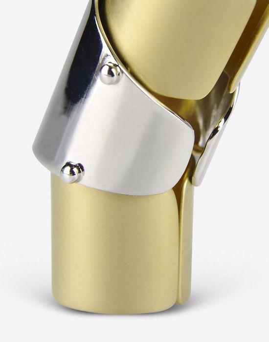 MAISON MARGIELA 11 Tri color 'armor' ring Ring [*** pickupInStoreShipping_info ***] e
