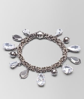 BRACELET IN SILVER AND STONES