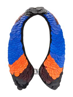 Marni Collar in plastic sequins with hook closure Woman