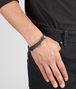 BOTTEGA VENETA BRACELET IN NEW LIGHT GRAY INTRECCIATO NAPPA AND SILVER Bracelet Man ap