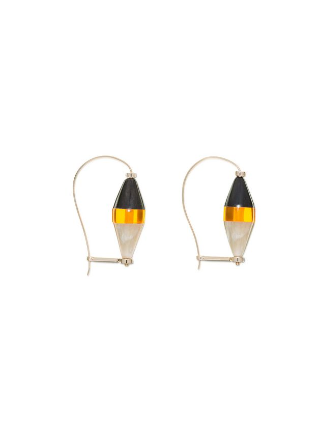 sphere jewellery tone sneakerscatalogo black goldtone p drop hoop womens accessories gold spheredrop marni earrings and jewellerymarni cream