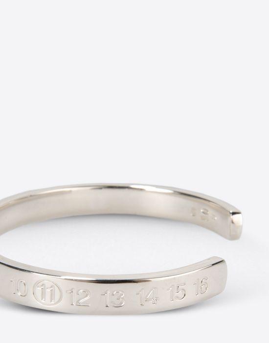 Maison Margiela 11 Thin Silver Cuff Bracelet Pickupinshippingnotguaranteed Info