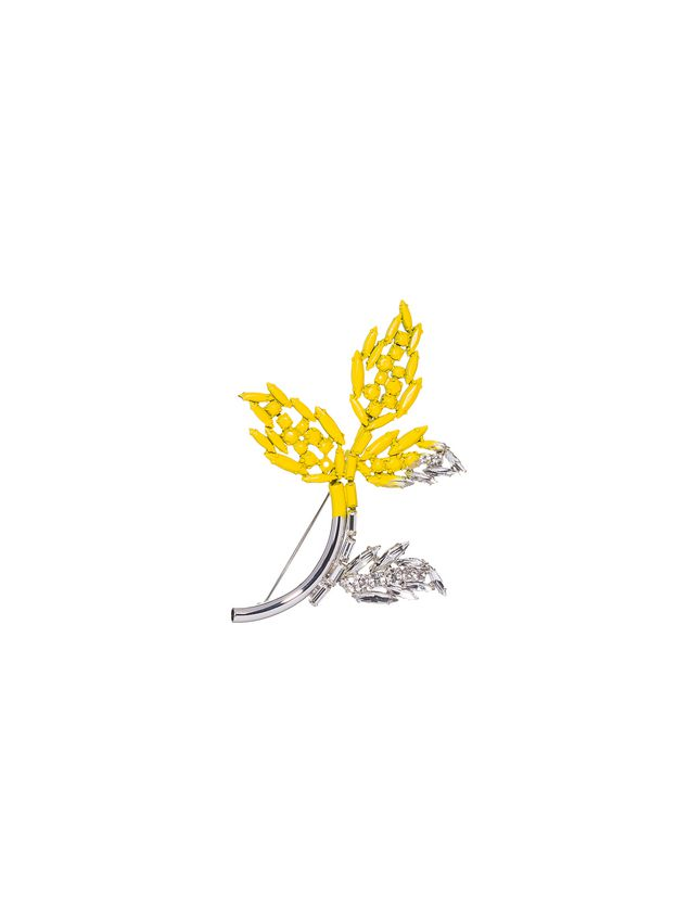Marni Pin in varnished strass Woman - 1