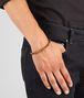 BOTTEGA VENETA BRACELET IN SILVER TIGER'S EYE STONES Bracelet Man ap
