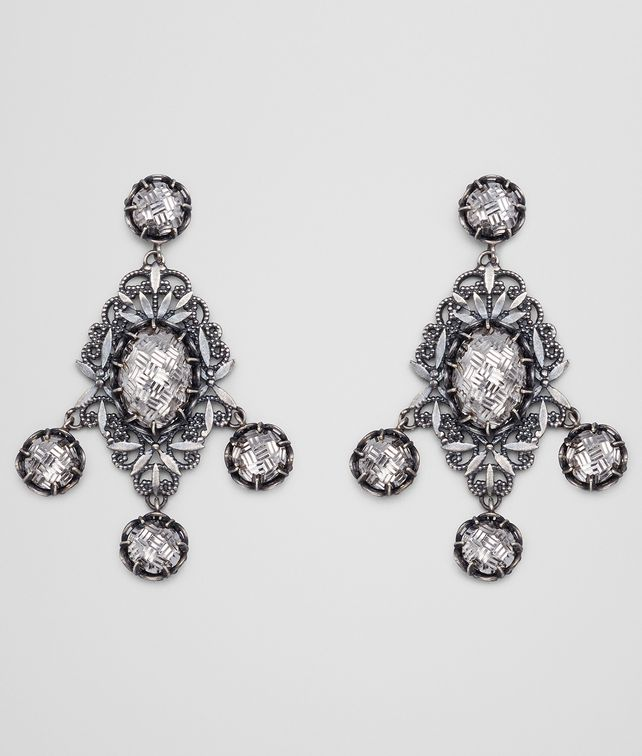 BOTTEGA VENETA EARRINGS IN SILVER Earrings D fp