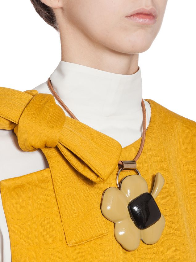Marni Necklace in resin and horn Woman - 2