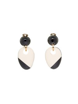 Marni Clip-on earring in resin and horn Woman