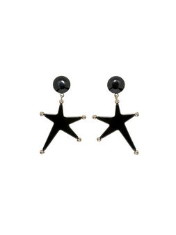 Marni Star-shaped clip-on earrings in acrylic resin Woman