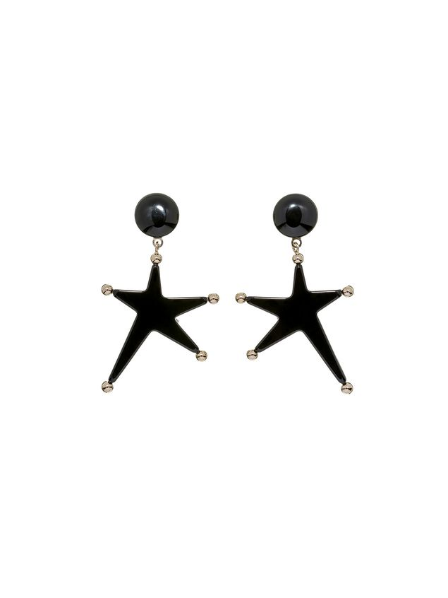 Marni Star-shaped clip-on earrings in acrylic resin Woman - 1