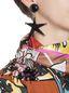 Marni Star-shaped clip-on earrings in acrylic resin Woman - 2
