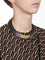 Marni Leather necklace with horn and rhinestone Woman - 2