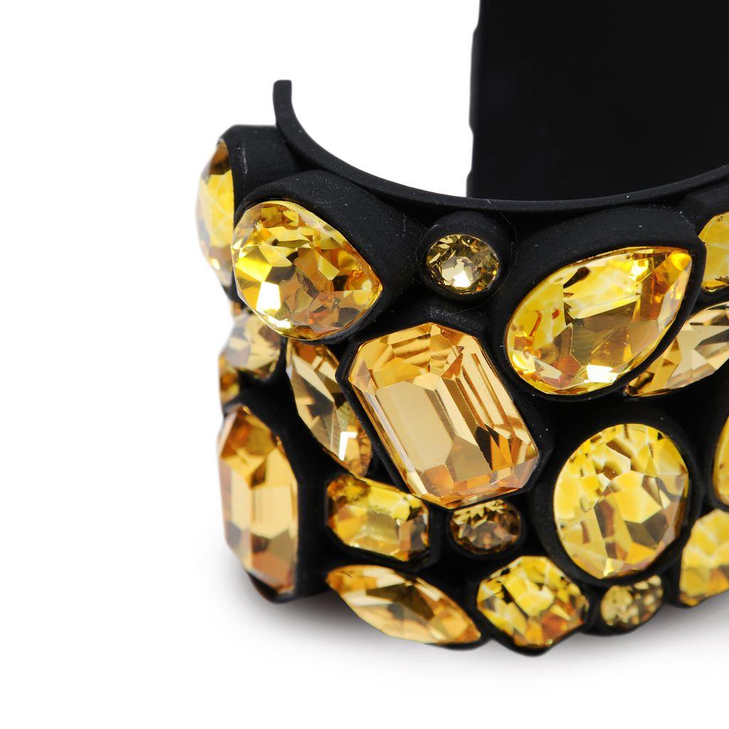 Coated Jeweled Cuff - STELLA MCCARTNEY