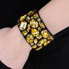 STELLA McCARTNEY Coated Jeweled Cuff Jewelry D r