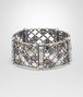 BOTTEGA VENETA BRACELET IN SILVER AND TOURMALINE STONES WITH YELLOW GOLD ACCENTS Bracelet Woman rp