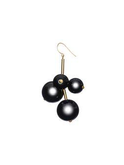 Marni Leverback earrings in resin and gold metal  Woman