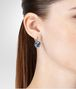 BOTTEGA VENETA EARRINGS IN SILVER AND NATURAL PEACOCK CUBIC ZIRCONIA Earrings Woman ap
