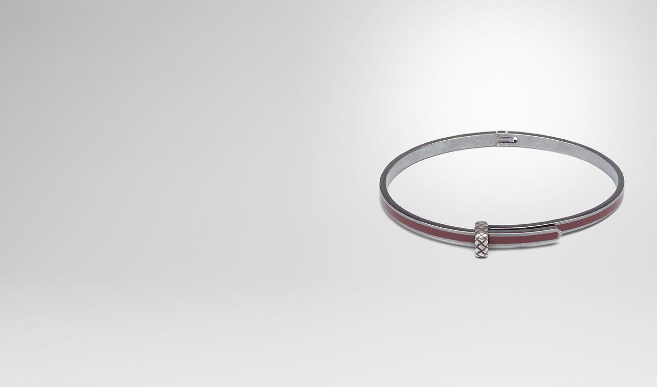 Bottega Veneta Intrecciato Silver Bracelet S Naturale TbLWqFKqa
