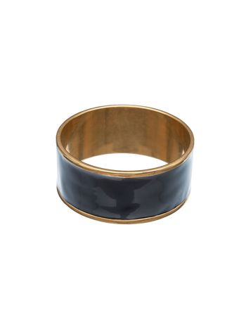 Marni Rigid bracelet in metal and resin Woman