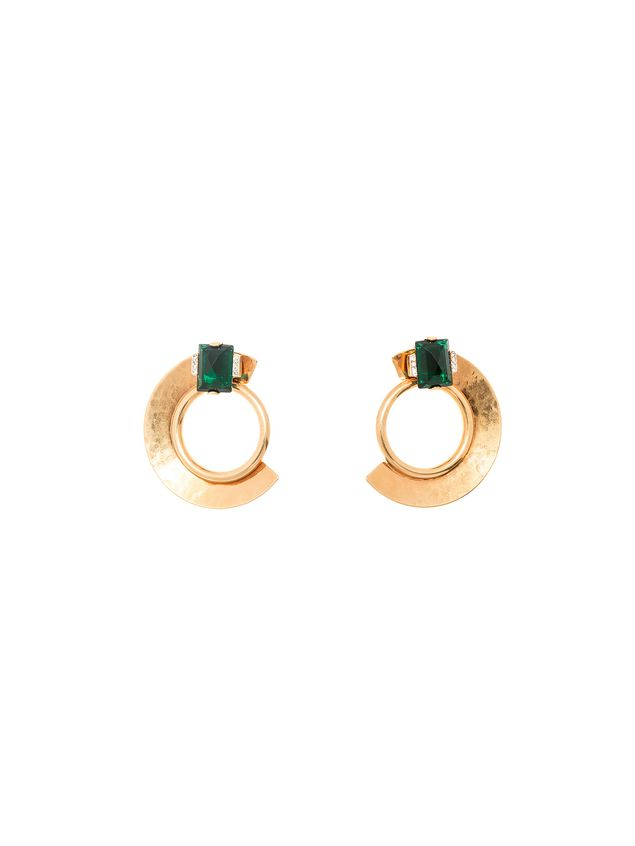 Marni Clip-on earrings in gold metal Woman - 1