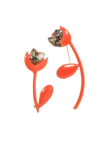 Marni Set of pins in acrylic resin Woman