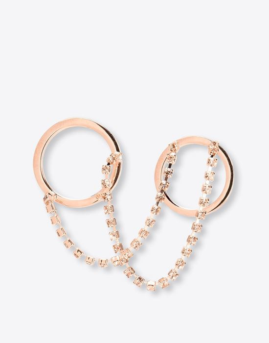 MAISON MARGIELA 11 Linked double-ring Ring D f