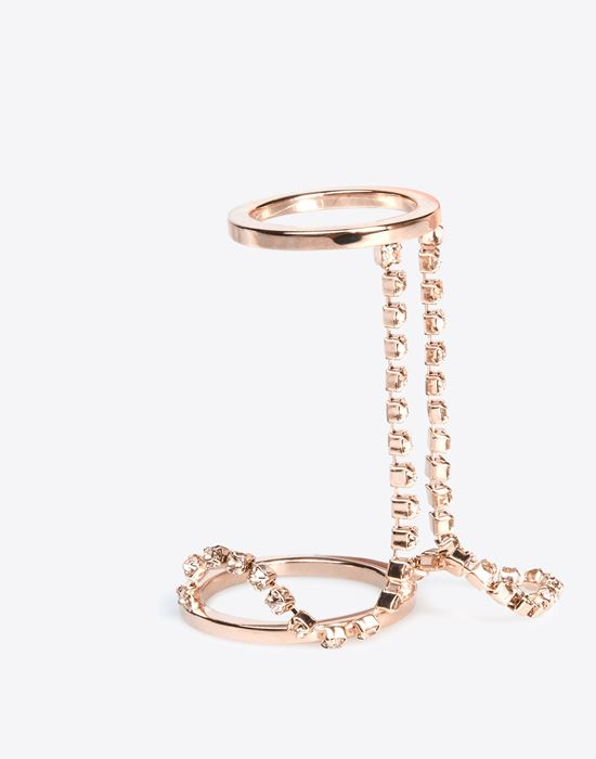 MAISON MARGIELA 11 Linked double-ring Ring D r