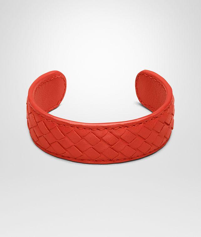 BOTTEGA VENETA BRACELET IN VESUVIO MICROINTRECCIATO NAPPA Keyring or Bracelets Woman fp
