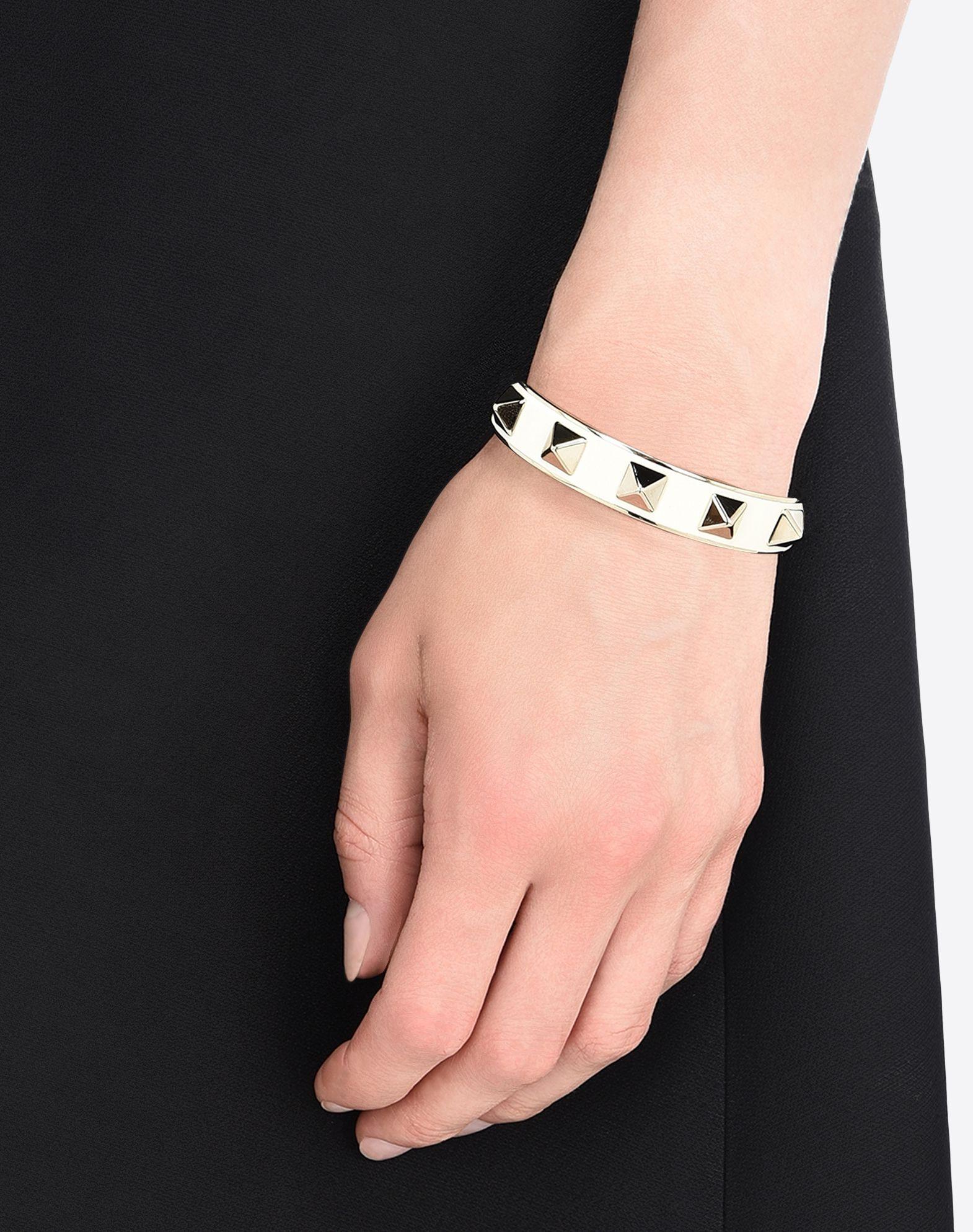 Valentino Rockstud bracelet cuff - Black pSXyXuE7