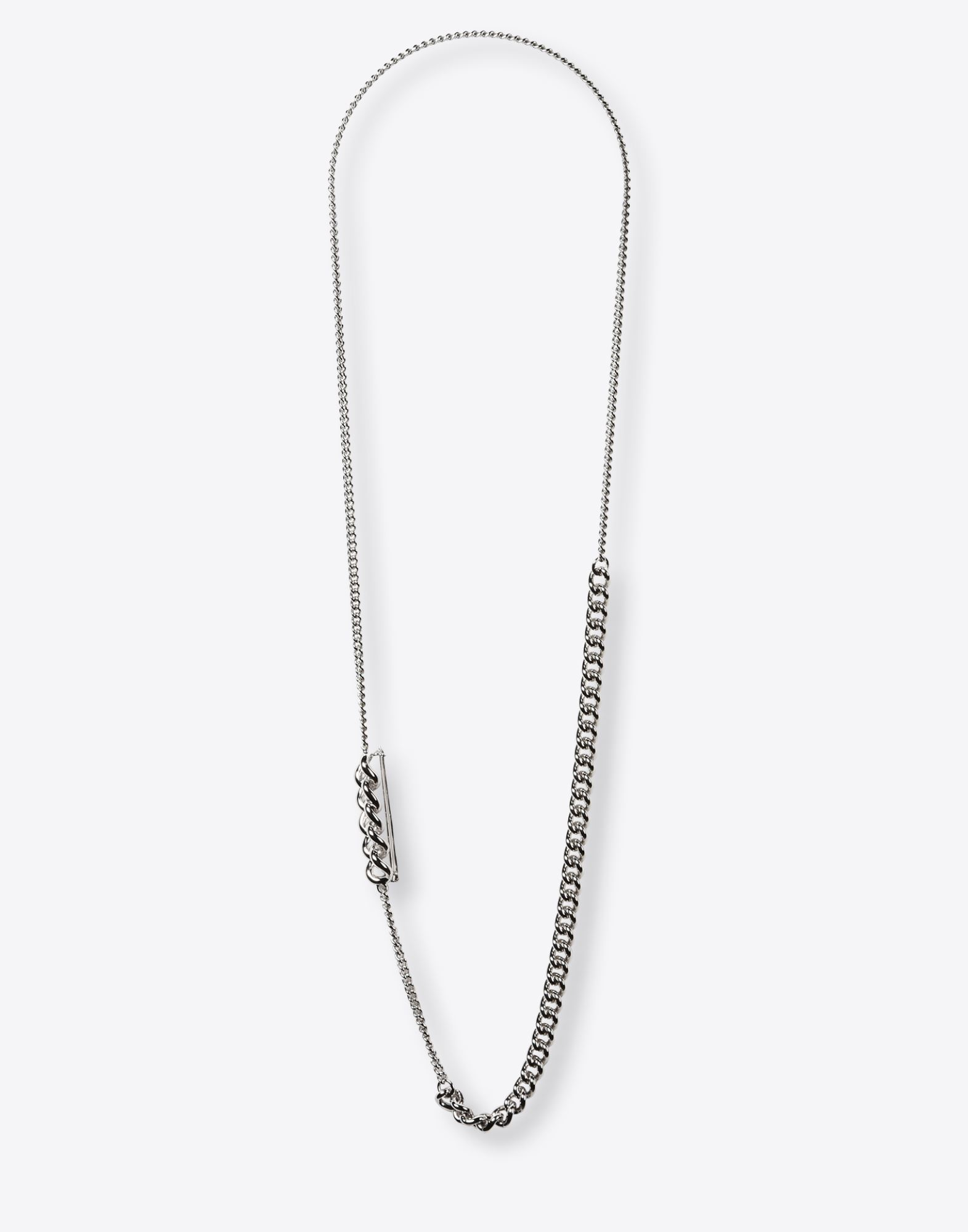 MAISON MARGIELA 11 Long 'Link and chain' necklace Necklace Woman f