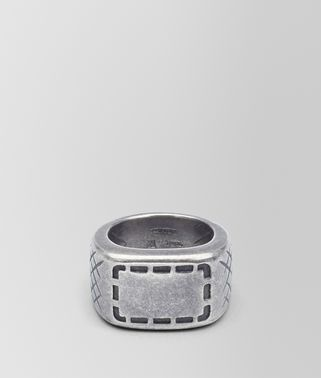 0db3d9d180 RING IN SILVER WITH SELLERIA MOTIF AND INTRECCIATO DETAILS