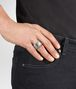 BOTTEGA VENETA RING IN SILVER WITH SELLERIA MOTIF AND INTRECCIATO DETAILS Ring Man ap