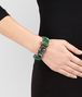 BOTTEGA VENETA BRACELET IN GEMSTONES AND SILVER, YELLOW GOLD ACCENTS Bracelet Woman ap
