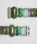 BOTTEGA VENETA BRACELET IN GEMSTONES AND SILVER, YELLOW GOLD ACCENTS Bracelet D dp