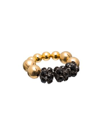 Marni Stretch bracelet in metal and strass Woman