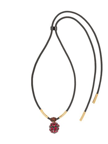 Marni Length-adjustable necklace in strass Woman