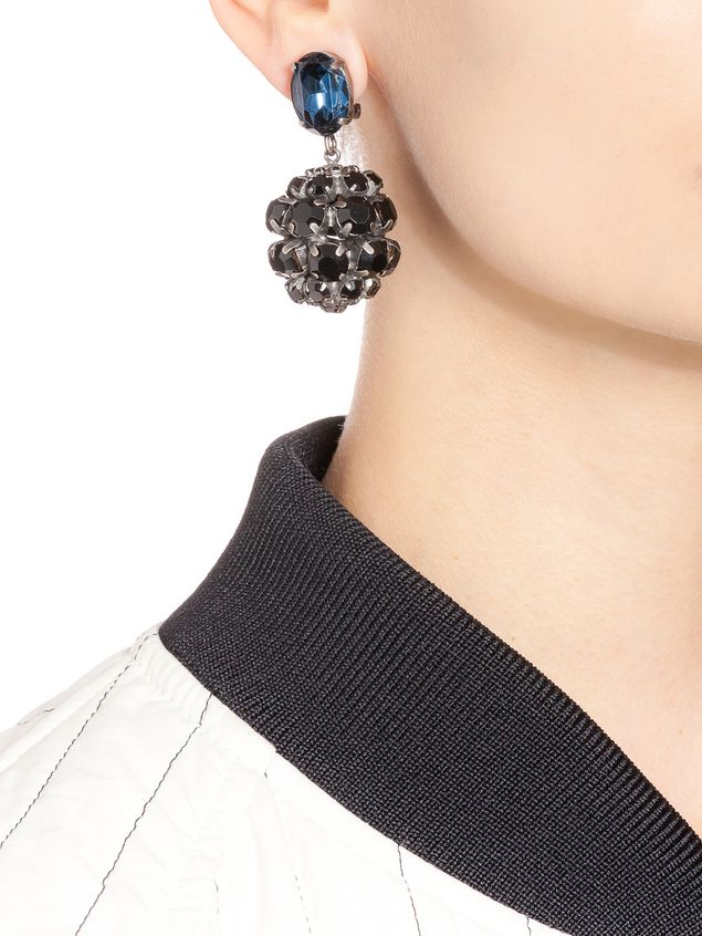 Marni Clip-on earrings in strass Woman - 2