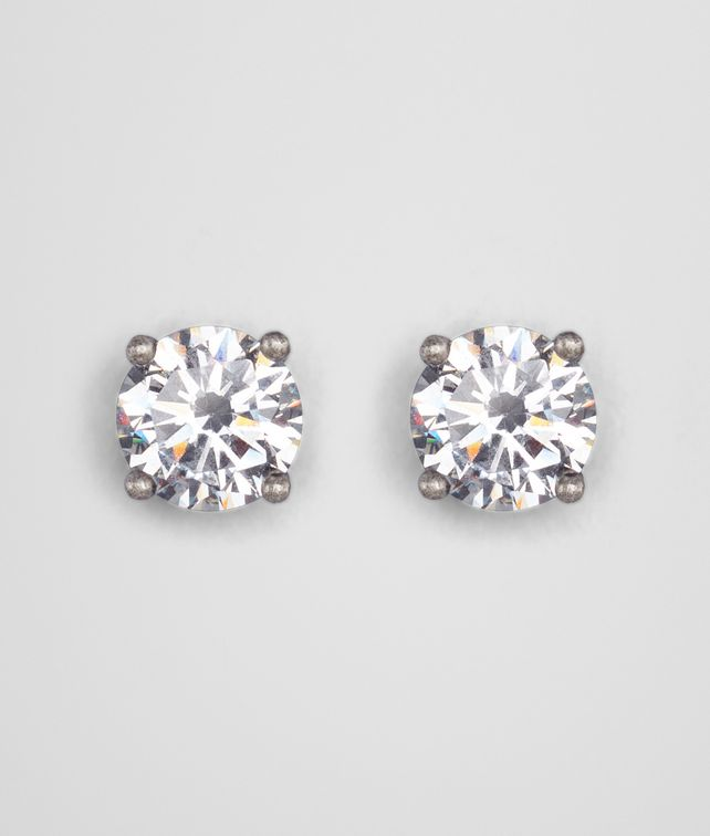 BOTTEGA VENETA NATURALE CUBIC ZIRCONIA SILVER EARRING Earrings D fp